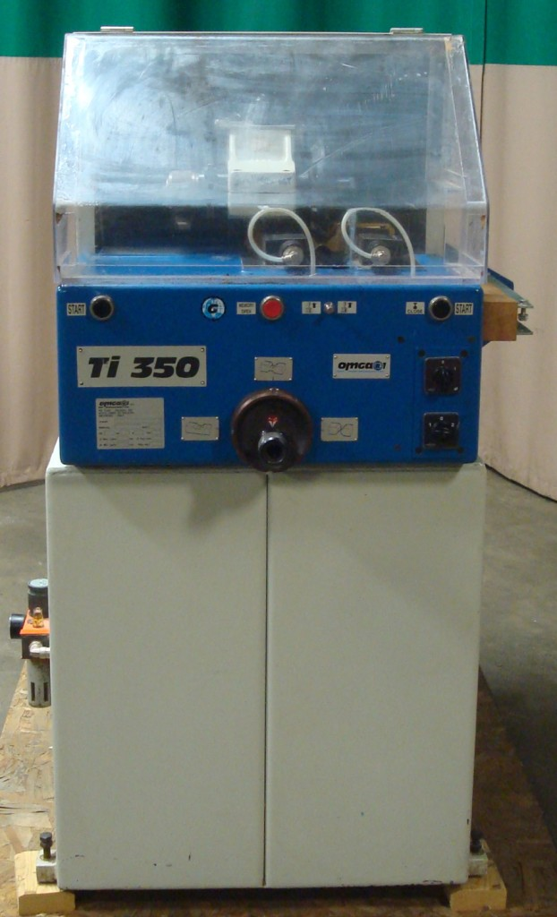 Used Omga1/2 Lap Notcher Model TI3350 with Omga FP4000 Feed & Out Feed Bench - Photo 1