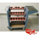 Used Mobile Tool Cart for 18 Tools - Photo 1